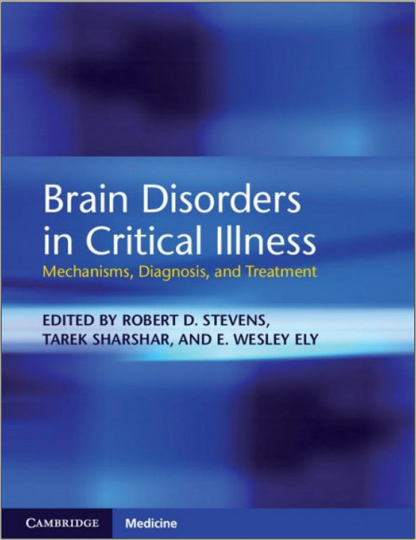 Brain Disorders in Critical Illness: Mechanisms, Diagnosis, and Treatment 1st Edition
