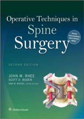 Operative Techniques in Spine Surgery Second Edition