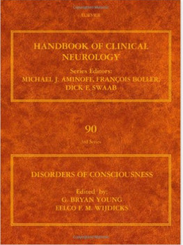 Disorders of Consciousness, Volume 90