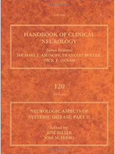 Neurologic Aspects of Systemic Disease Part II, Volume 120