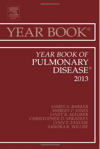 Year Book of Pulmonary Diseases 2013, 1e (Year Books) 1st Edition