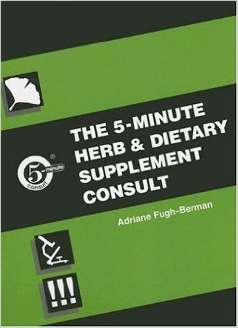 Five Minute Herb and Dietary Supplement Clinical Consult 1st Edition
