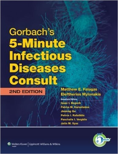 Gorbach's 5-Minute Infectious Diseases Consult (The 5-Minute Consult Series)