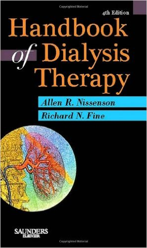 Handbook of Dialysis Therapy, 4e 4th Edition