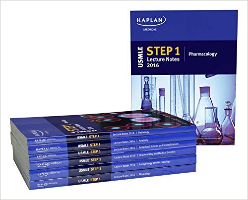 USMLE Step 1 Lecture Notes 2016 (Kaplan Test Prep) 1st Edition FULL SERIES Free