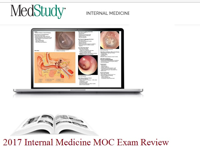 2017 Internal Medicine MOC Exam Review VIDEO