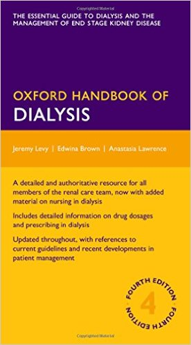 Oxford Handbook of Dialysis  4th Edition