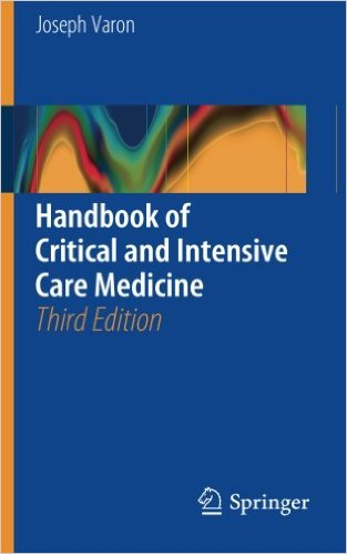 Handbook of Critical and Intensive Care Medicine 3rd ed. 2016 Edition