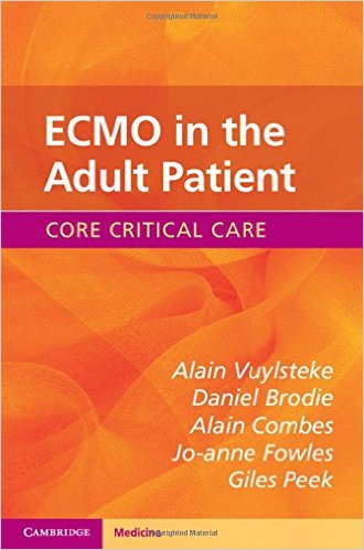 ECMO in the Adult Patient 1st Edition