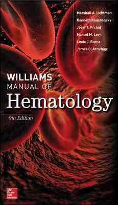 Williams Manual of Hematology, 9th Edition