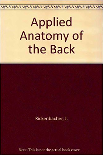 Applied Anatomy of the Back 1st Edition PDF
