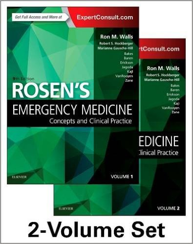 Rosen's Emergency Medicine: Concepts and Clinical Practice: 2-Volume Set, 9e 9th Edition PDF