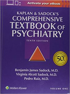 Kaplan and Sadock's Comprehensive Textbook of Psychiatry, 10th edition 2 Volume Set Edition PDF