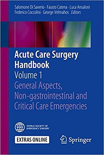 Acute Care Surgery Handbook: Volume 1 General Aspects, Non-gastrointestinal and Critical Care Emergencies 1st ed. 2017 Edition PDF