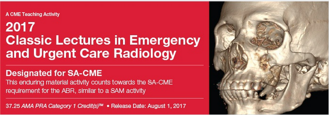 Classic Lectures in Emergency and Urgent Care Radiology 2017 video