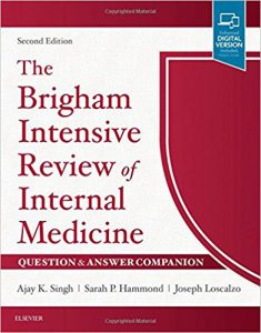 The Brigham Intensive Review of Internal Medicine Question & Answer Companion, 2nd edition PDF