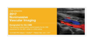 2017 Noninvasive Vascular Imaging - A Video CME Teaching Activity