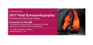 2017 Fetal Echocardiography: Normal and Abnormal Hearts - A Video CME Teaching Activity