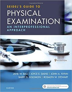 Seidel's Guide to Physical Examination An Interprofessional Approach, 9th Edition PDF