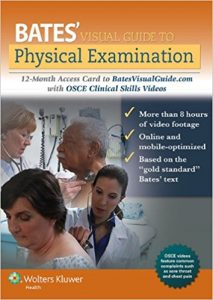 Bates' Physical Examination and OSCE Clinical Skills 2018 (Videos+PDFs)