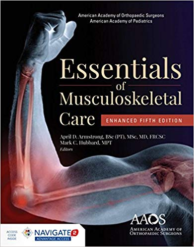 AAOS Essentials of Musculoskeletal Care: Enhanced Edition 5th Edition PDF
