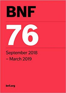 BNF 76 (British National Formulary) September 2018 76th Revised Edition PDF