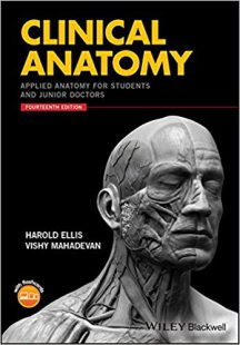 Clinical Anatomy: Applied Anatomy for Students and Junior Doctors 14th Edition PDF