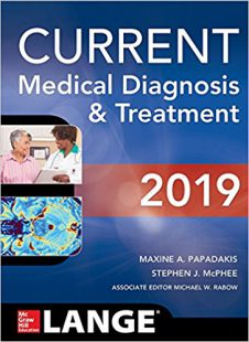 CURRENT Medical Diagnosis and Treatment 2019 58th Edition PDF FREE DOWNLOAD
