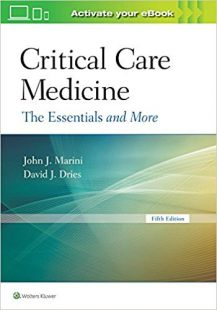 Critical Care Medicine: The Essentials and More 5th Edition Epub