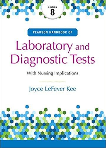 Pearson's Handbook of Laboratory and Diagnostic Tests 8th Edition