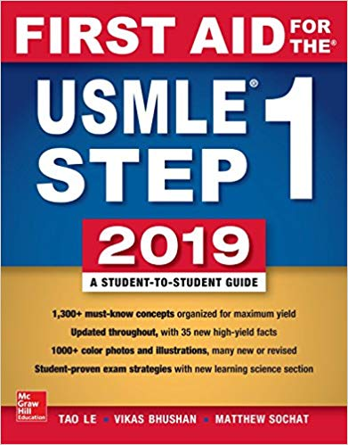 First Aid for the USMLE Step 1 2019, 29th Edition PDF