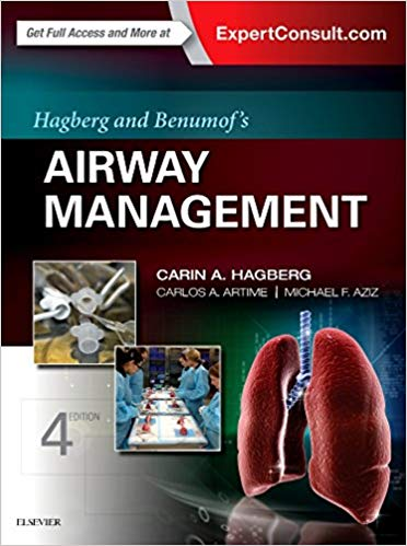 Hagberg and Benumof's Airway Management 4th Edition PDF
