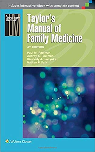Taylor's Manual of Family Medicine (Taylor's Manual of Family Practice) Fourth Edition PDF