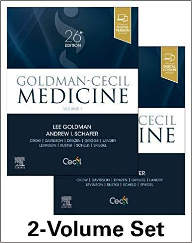 Goldman-Cecil Medicine, 2-Volume Set (Cecil Textbook of Medicine) 26th Edition PDF