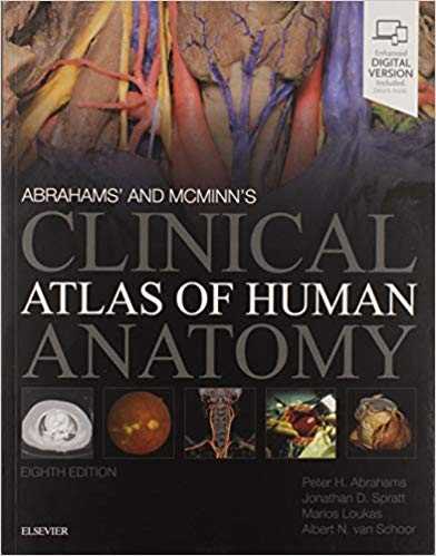 Abrahams' and McMinn's Clinical Atlas of Human Anatomy 8th Edition PDF