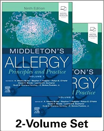 Middleton's Allergy 2-Volume Set: Principles and Practice (Middletons Allergy Principles and Practice) 9th Edition PDF