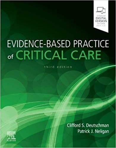 Evidence-Based Practice of Critical Care 3rd Edition PDF