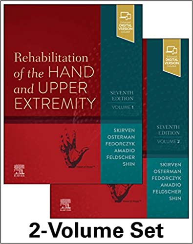 Rehabilitation Of Hand & Upper Extremty 7th Edition PDF