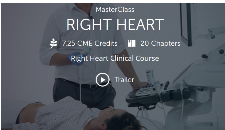 123Sonography : Right Heart MasterClass