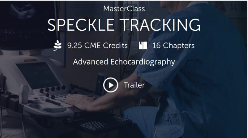 123Sonography : Speckle tracking MasterClass