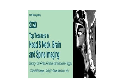 2020 Top Teachers in Head & Neck, Brain and Spine Imaging