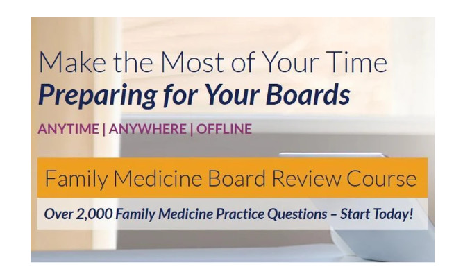 The Passmachine Family Medicine Board Review Course 2020
