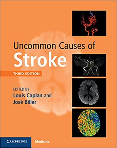 Uncommon Causes of Stroke 3rd Edition PDF