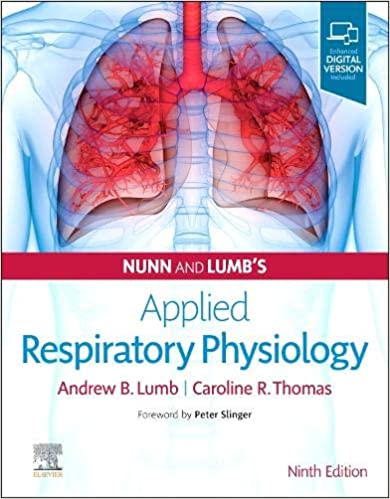 Nunn and Lumb's Applied Respiratory Physiology 9th Edition PDF